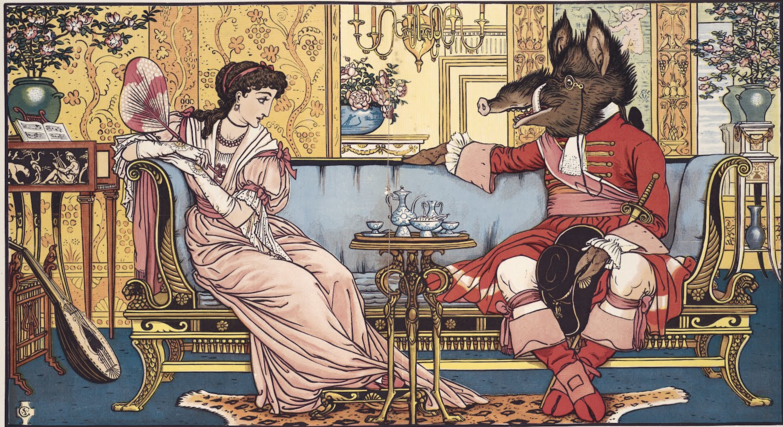 Disney Are Really Good. These 12 Pre-Disney Pictures Of Beauty And The Beast Are Really Bad!